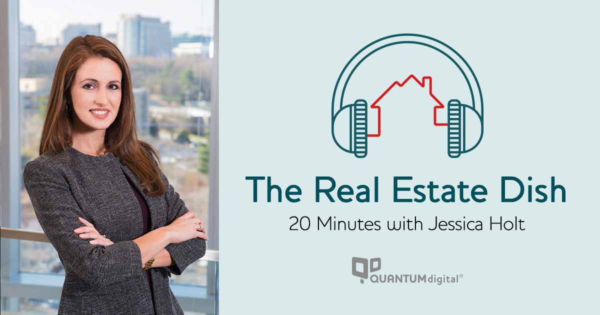 banner image The Real Estate Dish: 20 Minutes with Jessica Holt, VP of Professional Services at Berkshire Hathaway HomeServices / PenFed Realty