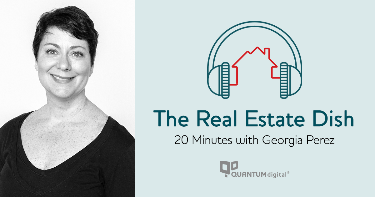 banner image The Real Estate Dish: 20 Minutes with Georgia Perez of MoxiWorks
