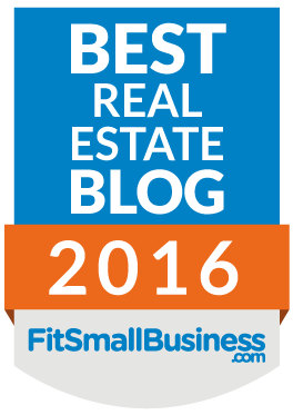 best real estate blog of 2016, fit small business dot com