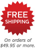 Free shipping on qualifying orders