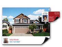 Real estate print on demand magnets