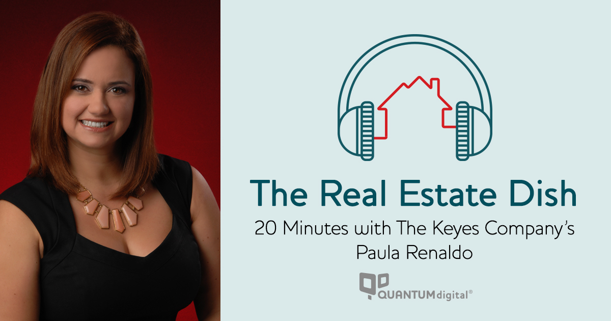 banner image The Real Estate Dish: 20 Minutes with The Keyes Company's Paula Renaldo