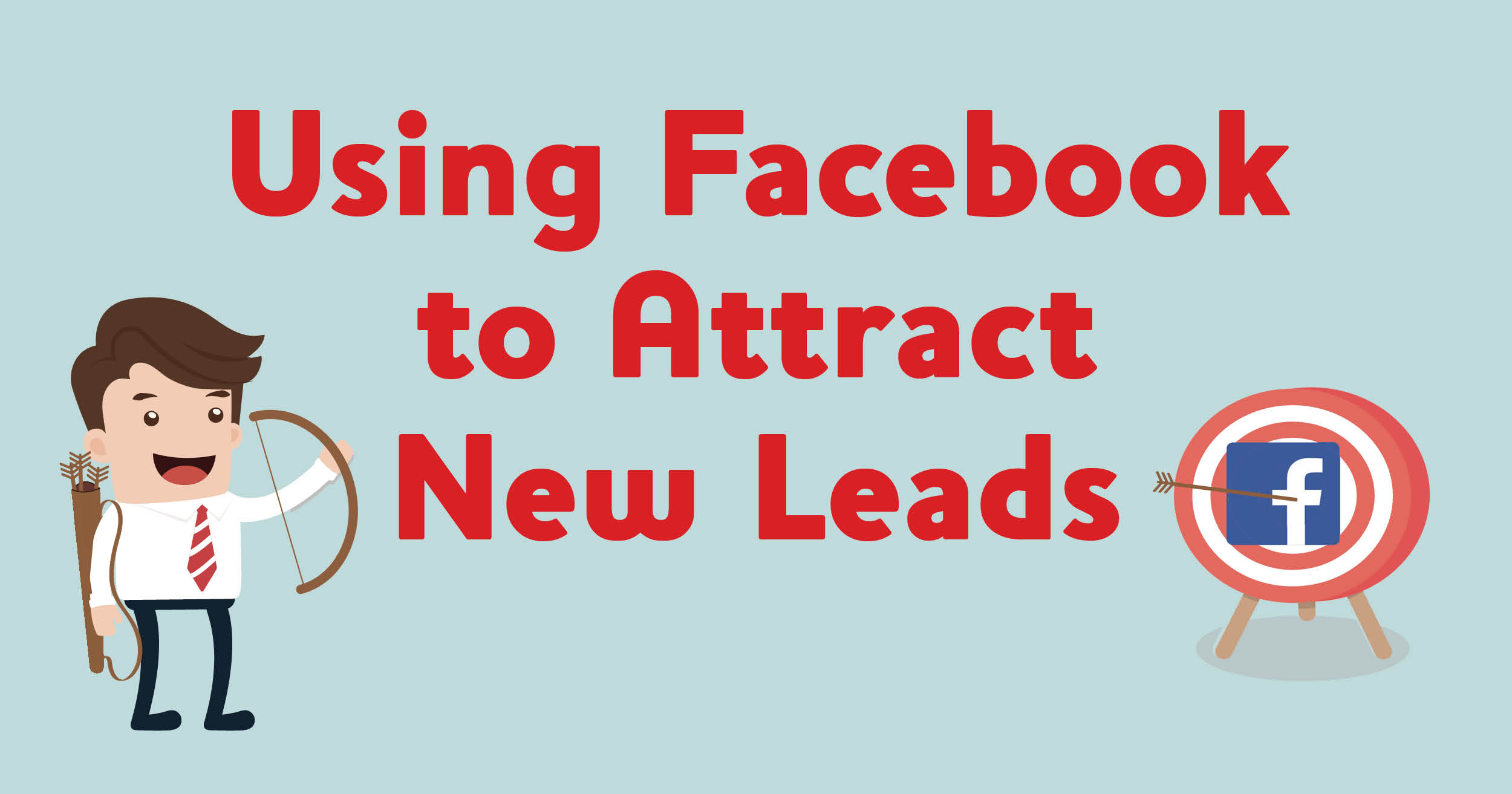 banner image using facebook to attract new leads