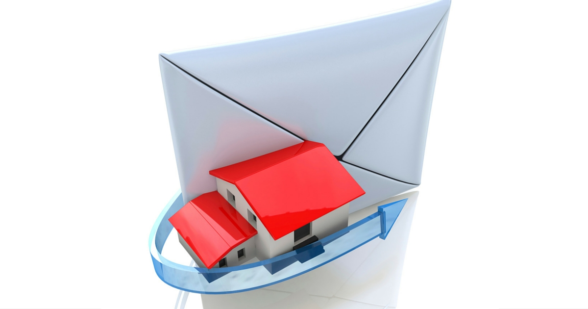 direct mail from real estate agents to home buyers