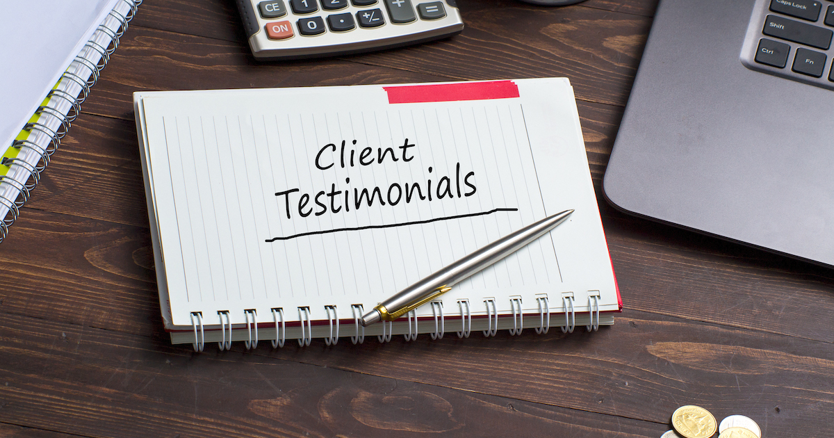 real estate agent reviews and testimonials from clients