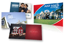 Real estate postcards for direct mail marketing