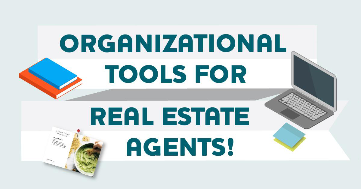 organizational tools for real estate agents banner image