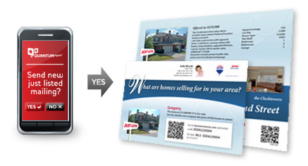 TriggerMarketing Postcards: Automatic MLS Just Listed & Just Sold Cards for remax agents